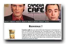screenshot de www.cameracafe-tv.com