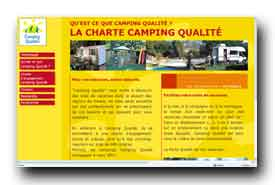 screenshot de www.campingqualite.com