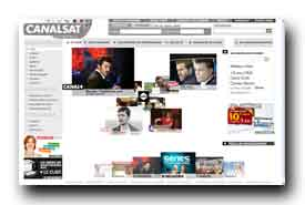 screenshot de www.canalsat.fr