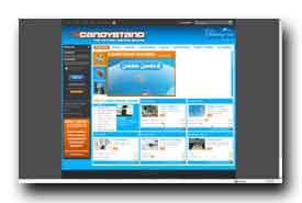 screenshot de www.candystand.com