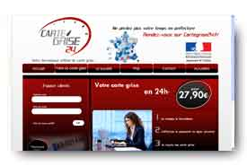 screenshot de www.cartegrise24.fr