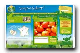 screenshot de www.chapeaudepaille.fr