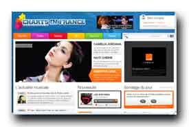 screenshot de www.chartsinfrance.net