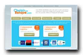 screenshot de www.choisir-ma-banque.com