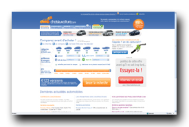 screenshot de www.choisir-sa-voiture.com