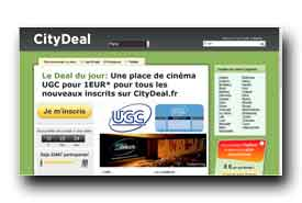 screenshot de www.citydeal.fr