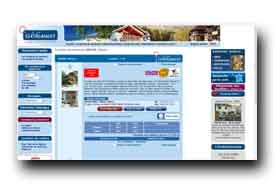 screenshot de www.clevacances.com