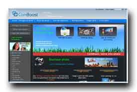 screenshot de www.comboost.com