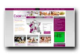 screenshot de www.cooktel.com