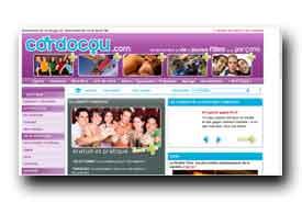 screenshot de www.cordocou.com