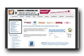 screenshot de www.courses-livraison.com