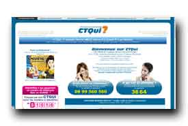 screenshot de www.ctqui.com
