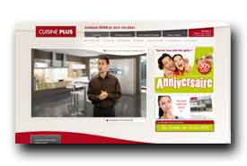 screenshot de www.cuisine-plus.fr