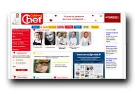 screenshot de www.cuisinezcommeunchef.fr