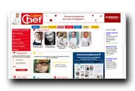 screenshot de www.cuisinezcommeunchef.fr