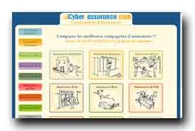 screenshot de www.cyber-assurance.com