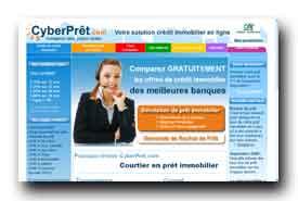 screenshot de www.cyberpret.com/