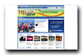 screenshot de www.dailymotion.com