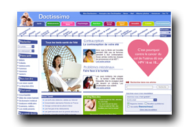 screenshot de www.doctissimo.fr