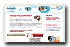 screenshot de www.domiserve.com