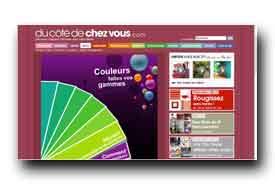 screenshot de www.ducotedechezvous.com