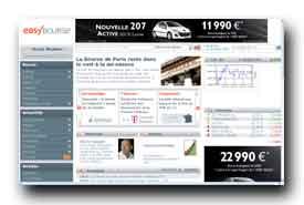 screenshot de www.easybourse.com/bourse/
