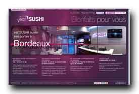 screenshot de www.eatsushi.fr