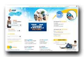screenshot de www.edf-bleuciel.fr