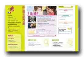 screenshot de www.education.gouv.fr