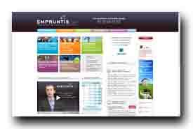 screenshot de www.empruntis.com