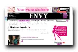screenshot de www.envy.fr