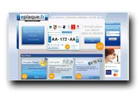 screenshot de www.eplaque.fr