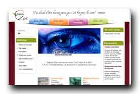 screenshot de www.espace-zen.fr