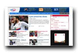 screenshot de www.eurosport.fr