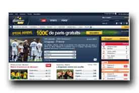 screenshot de www.eurosportbet.fr