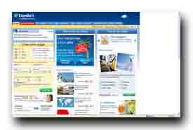 screenshot de www.expedia.fr