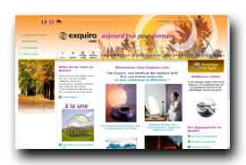 screenshot de www.exquiro.com