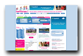 screenshot de www.familiscope.fr