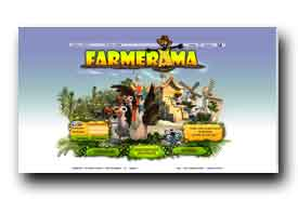 screenshot de www.farmerama.fr