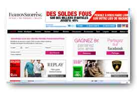 screenshot de www.fashionshopping.com