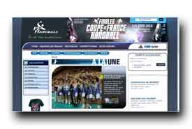 screenshot de www.ff-handball.org