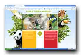 screenshot de www.ficusforever.nl