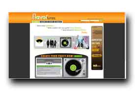 screenshot de www.flavortunes.com