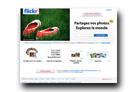 screenshot de www.flickr.com