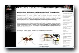 screenshot de www.fourmis-photographies.com