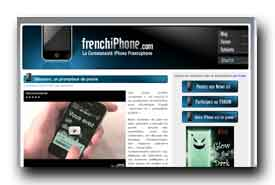 screenshot de www.frenchiphone.com
