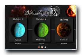 screenshot de www.Galactik.fr