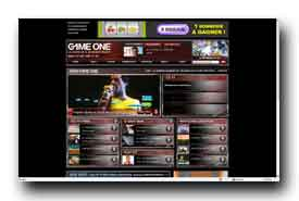 screenshot de www.gameone.net