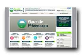 screenshot de www.garantie-privee.com