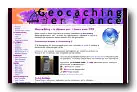 screenshot de www.geocaching-france.com